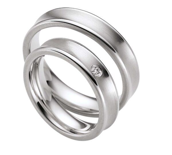 Обручальные платиновые кольца из платины ( цена за пару)   арт 7256
